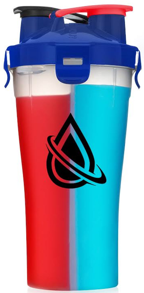 Hydracup Dual Shaker - 28oz Miami Blue