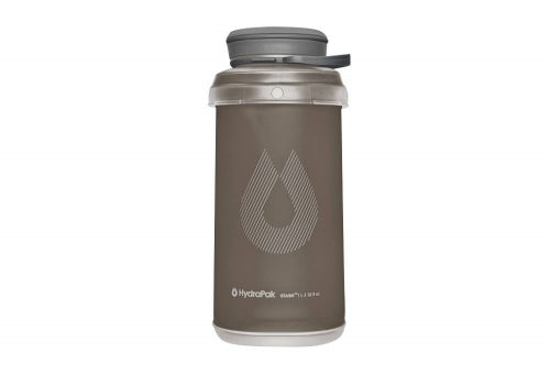 Hydrapak Stash 1L Bottle - mammoth grey, one size