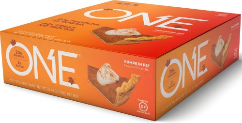 ISS Oh Yeah! ONE Bar - Box of 12 Pumpkin Pie
