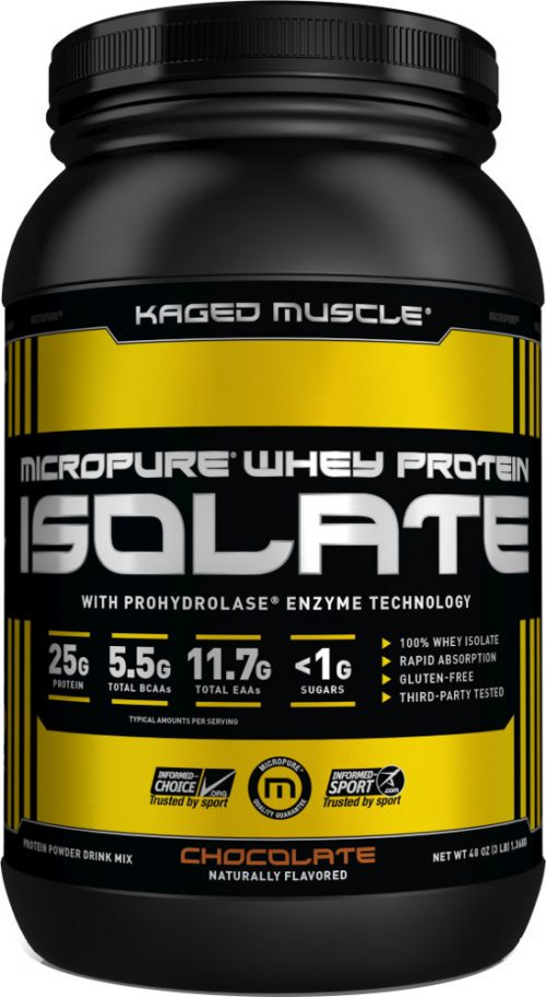 Kaged Muscle Micropure Whey Protein Isolate - 3lbs Chocolate