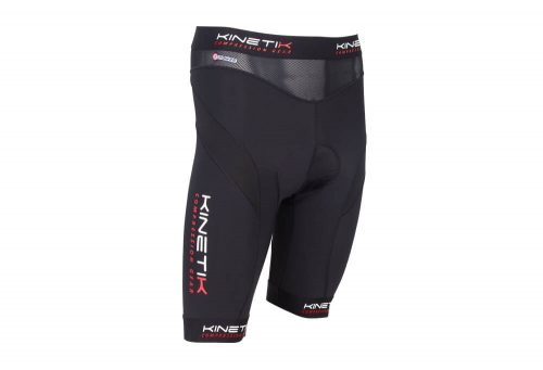 Kinetik Compression Cycling Shorts - Men's - black, x-large