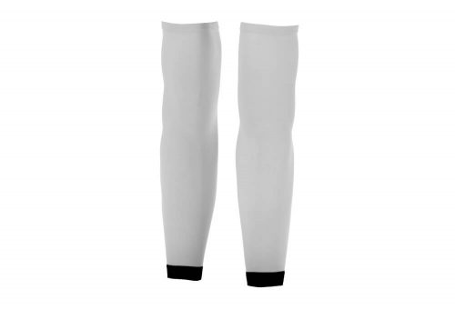Orca Compression Arm Sleeves - white, large