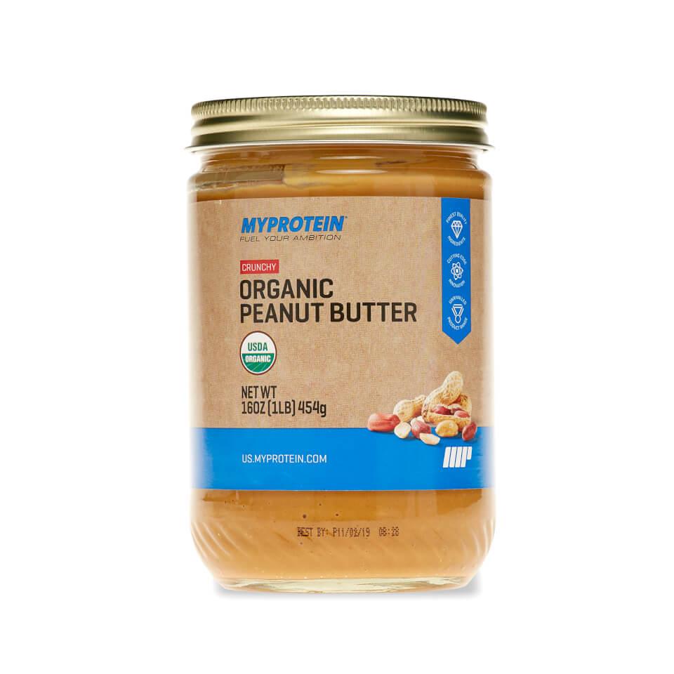 Organic American Classic Peanut Butter - Crunchy - 16 Oz (USA)