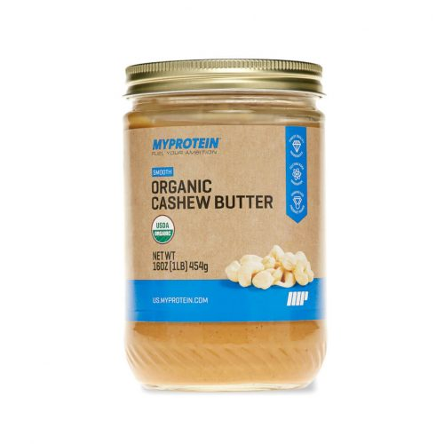 Organic Cashew Butter - Smooth - 16 Oz (USA)
