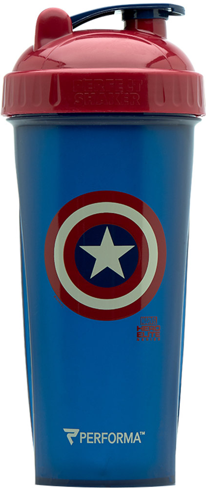 Perfect Shaker Marvel Avengers Infinity War Shaker - 28oz Captain Amer