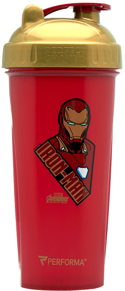 Perfect Shaker Marvel Avengers Infinity War Shaker - 28oz Ironman