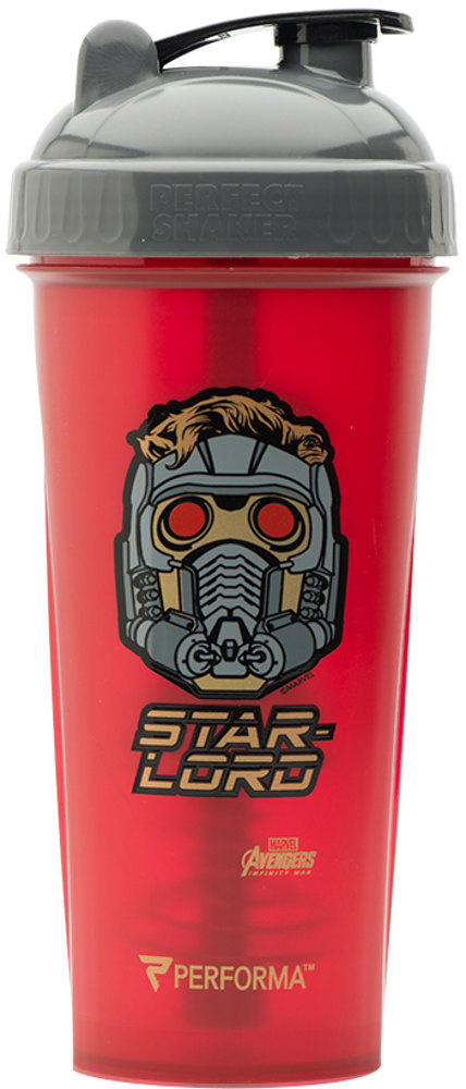 Perfect Shaker Marvel Avengers Infinity War Shaker - 28oz Star Lord