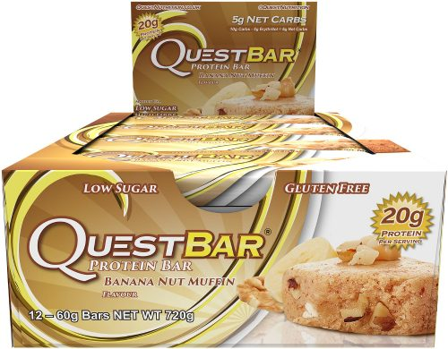 Quest Nutrition Quest Bar - Box of 12 Banana Nut Muffin