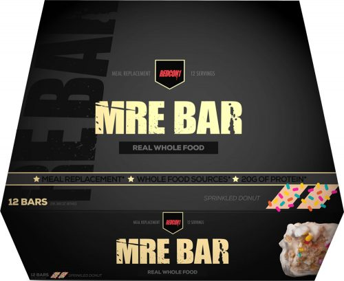 RedCon1 MRE Bar - 12 Bars Sprinkle Donut