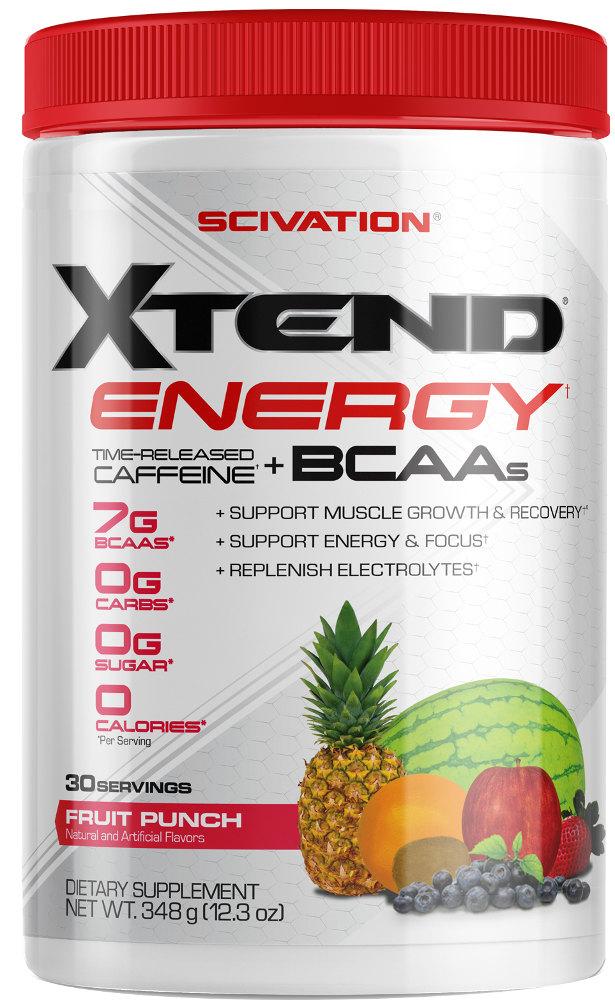 Scivation Xtend Energy - 30 Servings Fruit Punch