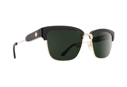 Spy Optic Bellows Sunglasses - black/gold happy gray green, one size