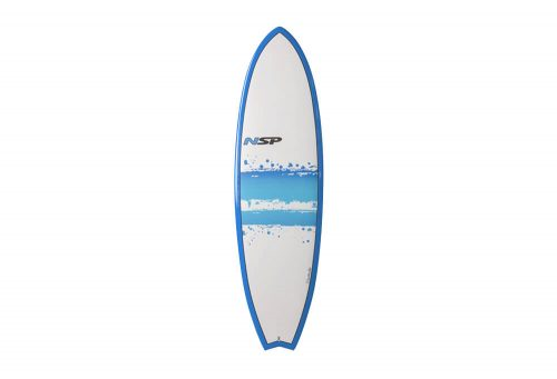 Surftech NSP 03 Hybrid Short Surf EF 6'0 Surfboard - blue, one size