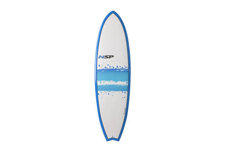 Surftech NSP 03 Hybrid Short Surf EF 6'0 Surfboard