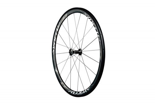 Syncros RR1.0 38mm Carbon Clincher Front Wheel - black, one size