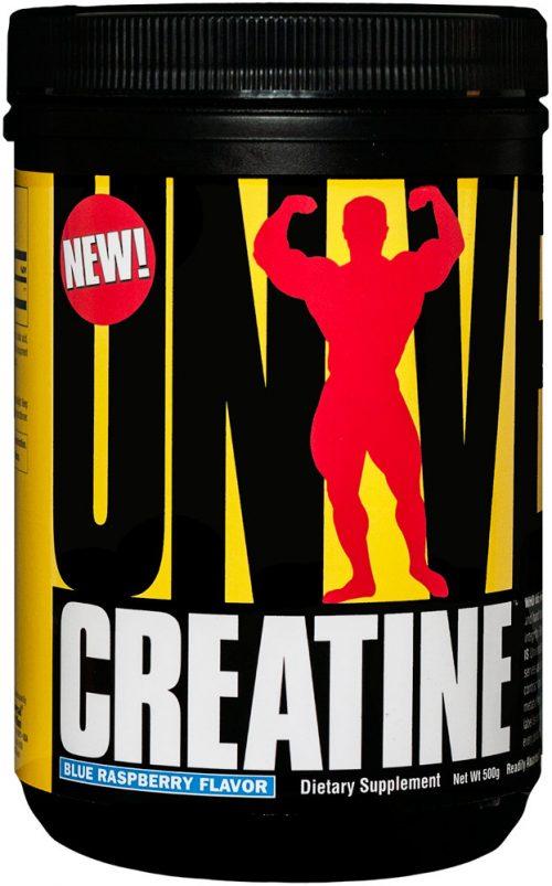 Universal Nutrition Universal Creatine Powder - 500 Grams Blue Raspber
