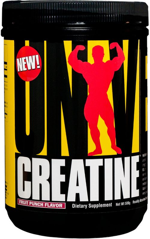 Universal Nutrition Universal Creatine Powder - 500 Grams Fruit Punch