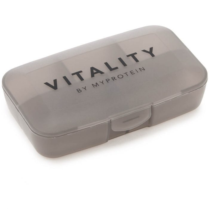Vitality Pill Box - Black Steel