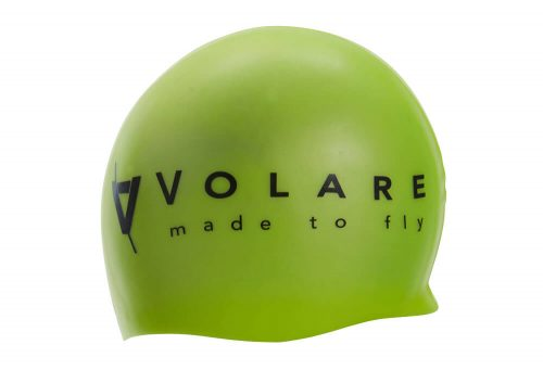 Volare Silicone Swim Cap - fluro yellow, one size