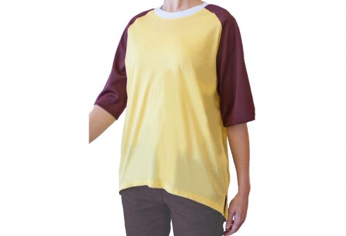 Wesc Jeanne Short Sleeve T- Shirt - Women's - sunset, medium