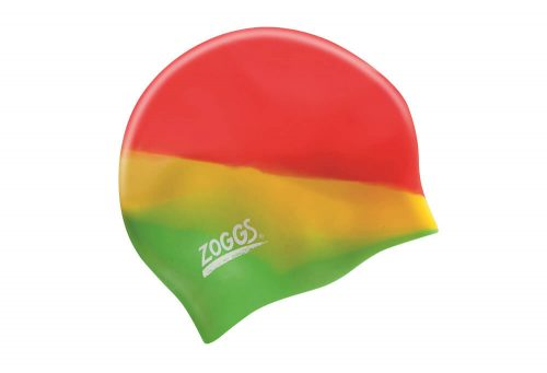 Zoggs Easy Fit Silicone Cap - rainbow, one size