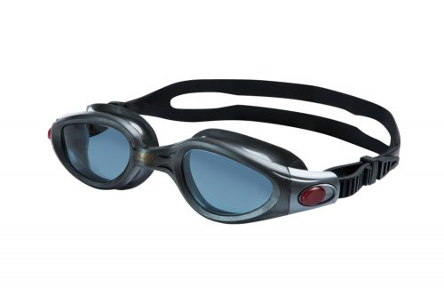 Zoggs Phantom Elite L/XL Polarized Goggles - black/smoke, adjustable