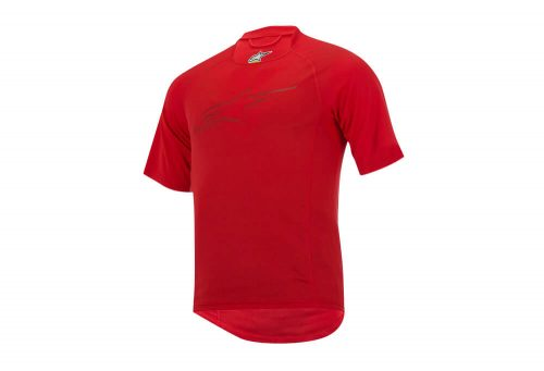 alpinestars Krypton S/S Jersey - Men's - chili/red, large