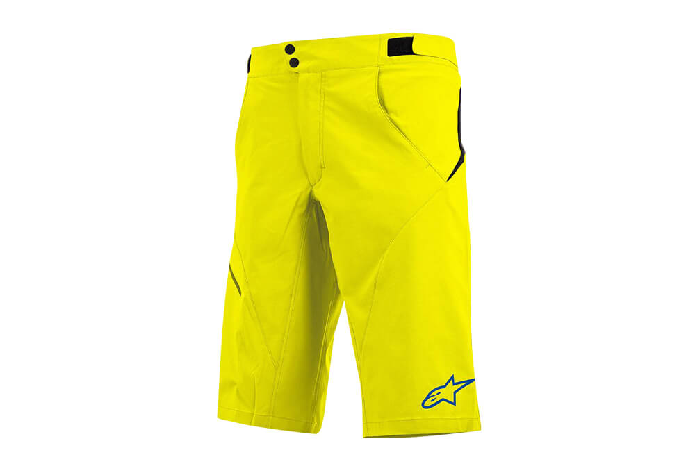 alpinestars Pathfinder Shorts - Men's - acid yellow/abyss blue, 38