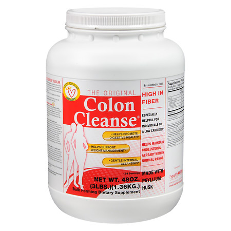 Health Plus The Original Colon Cleanse Hi Fiber - 48 oz.