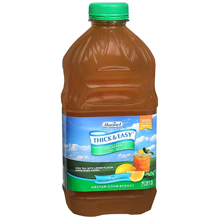 Hormel Thick & Easy Thickened Ice Tea Drink Nectar Consistency - 48 oz.