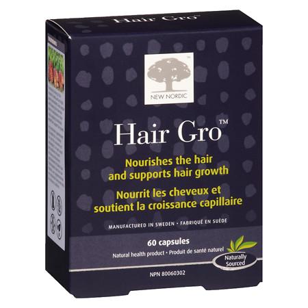 New Nordic Hair Gro Capsules - 60 ea