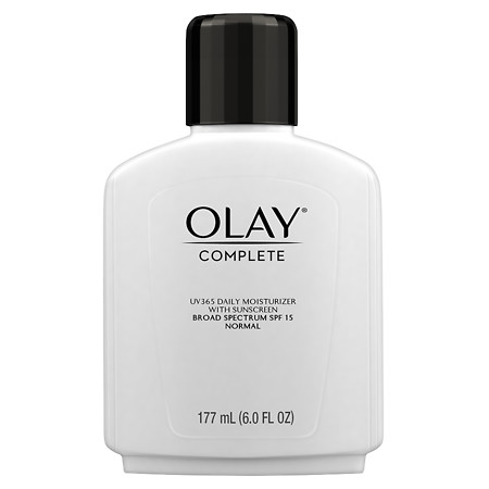 Olay Complete Lotion All Day Moisturizer with SPF 15 for Normal Skin - 6 oz.