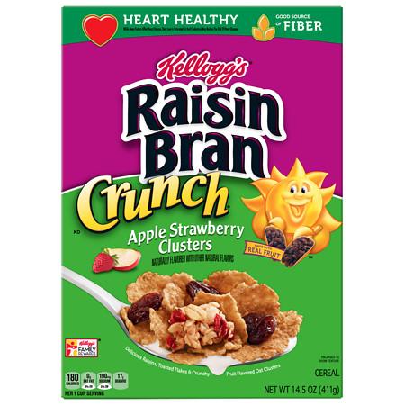 Raisin Bran Cereal Strawberry Apple - 15 OZ
