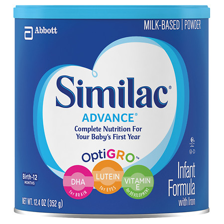 Similac Advance Complete Nutrition, Infant Formula with Iron, Powder - 12.4 oz.