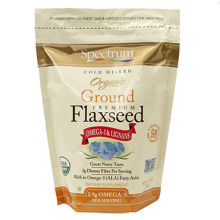 Spectrum Essentials Flaxseed Dietary Supplement - 14 oz.