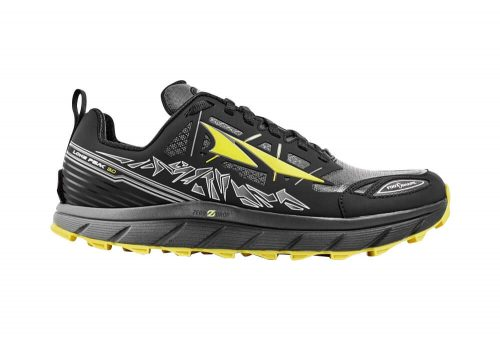 Altra Lone Peak Neoshell 3 Shoes - Men's - black/yellow, 10