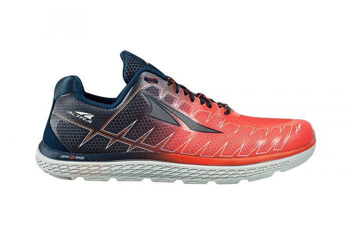 Altra One v3 Shoes - Men's - orange/blue, 9.5