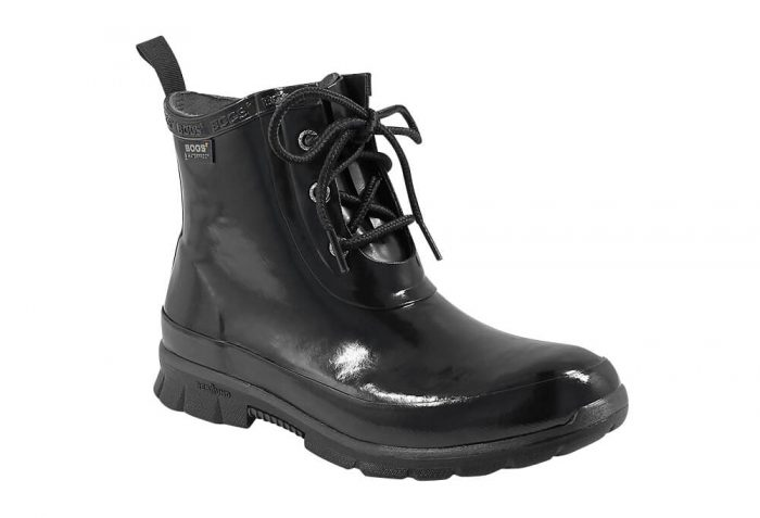 BOGS Amanda Chukka Rain Boots - Women's - black, 7