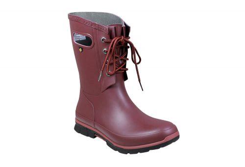 BOGS Amanda Rain Boots - Women's - burgundy, 9