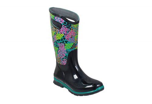 BOGS Berkley Footprint Rain Boots - Women's - black multi, 9