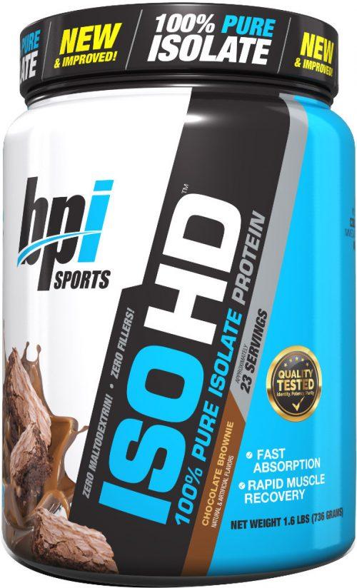 BPI Sports ISO HD - 5lbs Chocolate Brownie