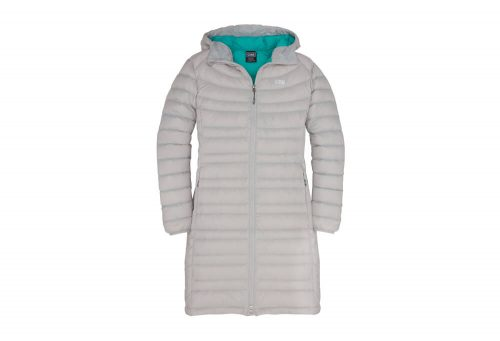 CIRQ Shasta Down Hooded Parka - Women's - silver, small