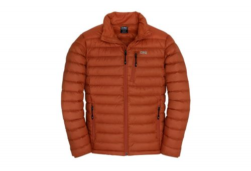 CIRQ Shasta Down Jacket - Men's - burnt orange, large