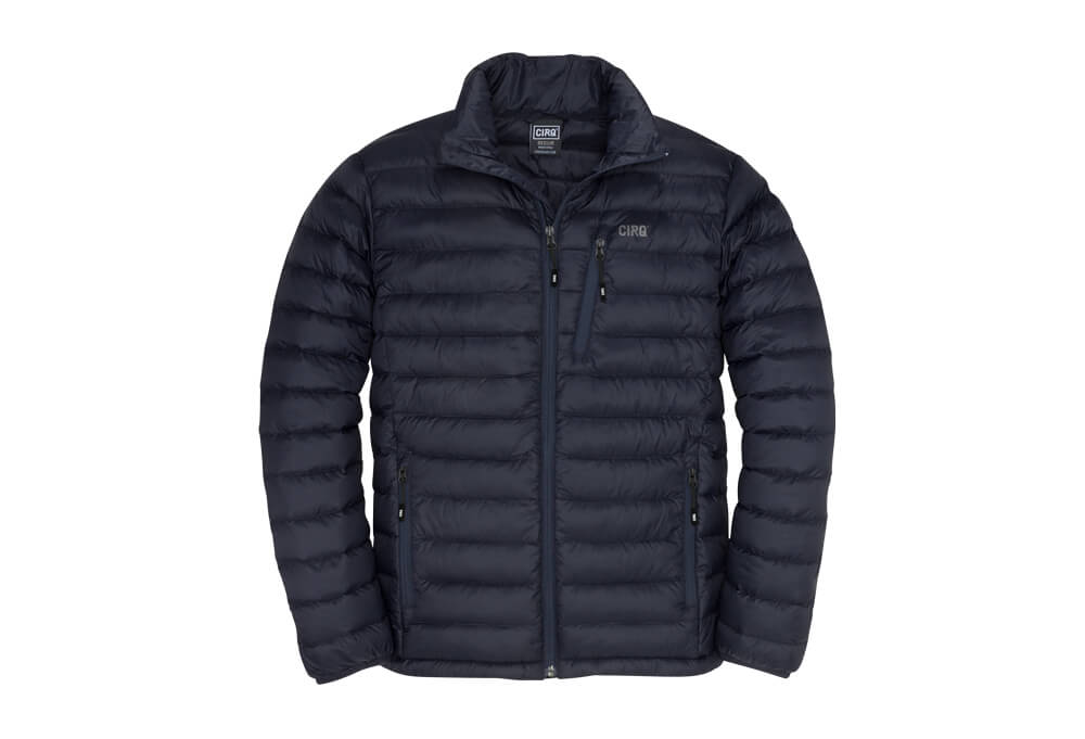 CIRQ Shasta Down Jacket - Men's - midnight blue, small