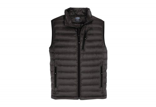 CIRQ Shasta Down Vest - Men's - black, large