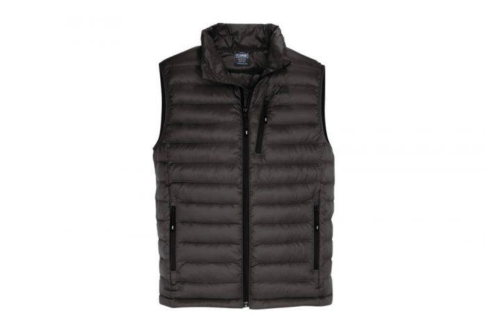 CIRQ Shasta Down Vest - Men's - black, large