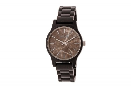 Earth Wood Tuckahoe Watch - dark brown wood, one size