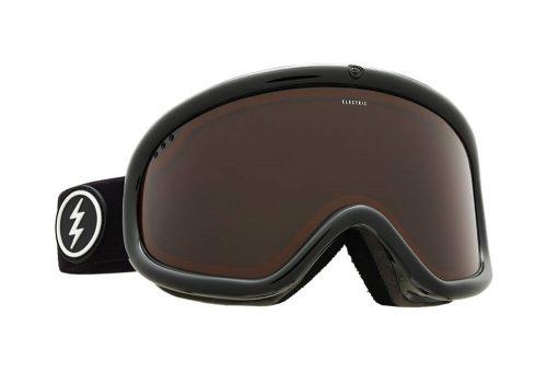 Electric Charger Goggle - matte black/brose, adjustable