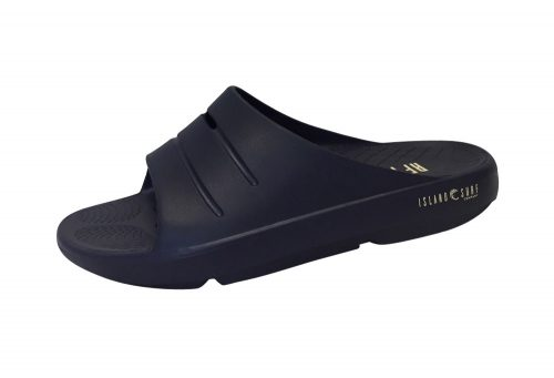 Island Surf Company Crest Slides - Men's - navy, 7
