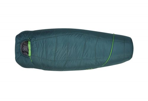 Kelty Tru.Comfort 20 Sleeping Bag - Long - green, right zip/long