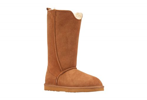 LAMO Bellona Tall Sheepskin Boots - Women's - chestnut, 10